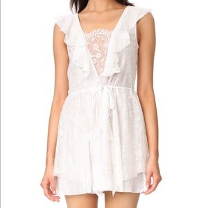 For Love and Lemons Stardust Lace Drawstring Dress